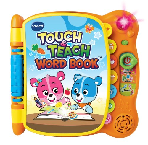 Presents to get 1 year old girls. VTech Touch and Teach Word Book