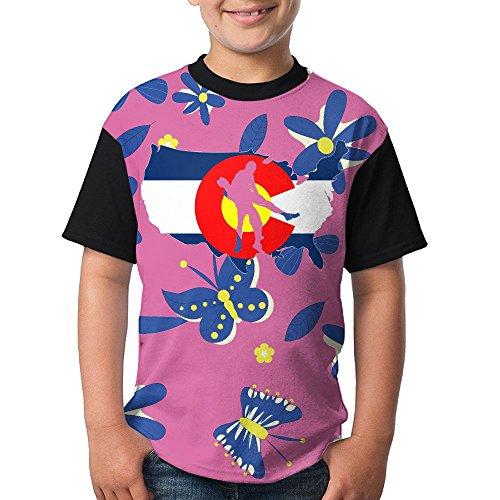 D6de Shirt Colorado Wrestling Girls Teen Boys Fashion 3D Printed Short Sleeved T-Shirt Tees by D6de Shirt