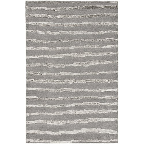 - Safavieh Soho Collection SOH519A Handmade Grey Premium Wool Area Rug (9'6