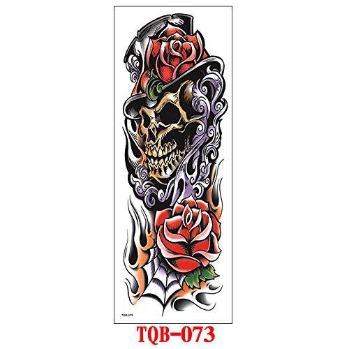 Handaxian 3pcs Adhesivos de Tatuaje de Brazo Completo Adhesivos de ...
