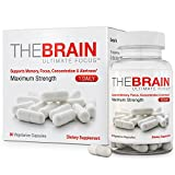 The Brain Ultimate Focus Maximum Strength Brain Supplement (1 month Supply) (30 Capsules)