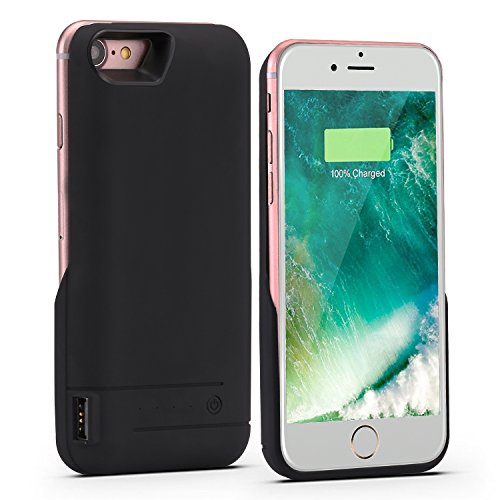 iPhone 8 Battery Case,iPhone 7 Battery Case,PEYOU® 5800mAh Large Capacity No Extra Chin Portable Charging Case Extended Backup Charger Power Bank Cover For Apple iPhone 8/7 4.7