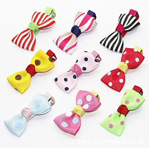 12pc Candy Color Barrettes