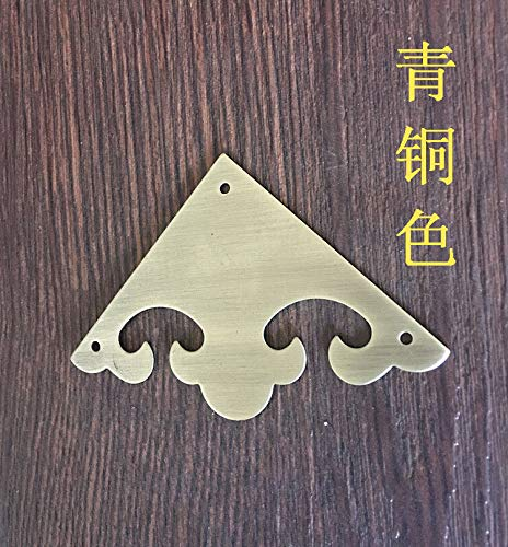 Thick/Chinese antique furniture of Ming and Qing Dynasties copper clad corner armor hardware accessories accessories single ho by Kasuki (Image #2)