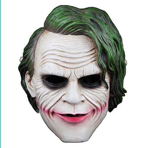 [YUFENG Fashion Party Mask, Hight Quality Resin Masquerade Costume Decoration,collection,Halloween, Party, Gift,amily Gathering] (The Joker Masquerade Costume)