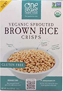 Sprouted Brown Rice Crisps Cereal 8 Ounces (Case of 6)