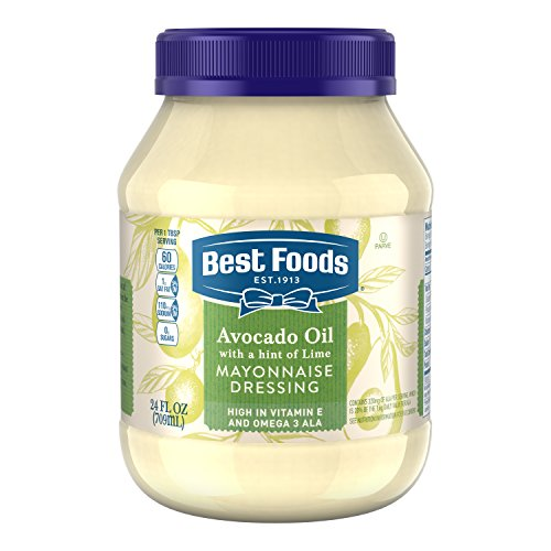 Best Foods Mayonnaise Dressing, Avocado Oil with a hint of Lemon 24oz