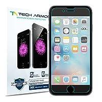 Protector de pantalla Tech Armor High Definition HD-Clear Film (no de vidrio) para Apple iPhone 6 /iPhone 6 (4.7 pulgadas) [paquete de 3]