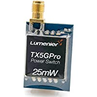 Lumenier TX5GPro-25 Mini 25mW 5.8GHz FPV Transmitter with Power Supply