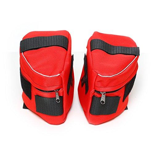 [해외]줄리어스 -K9 1622NT-IDC-R-0 파워 하네스, 크기 0, 빨간색 용 1 쌍 IDC 측면 백/Julius-K9 1622NT-IDC-R-0 1 Pair IDC side bags for Power Harness, Size 0, Red
