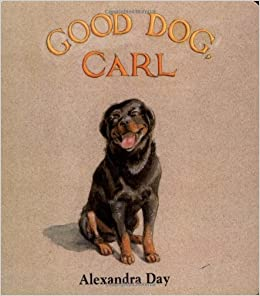 good dog carl a classic board book alexandra day 9780689807480