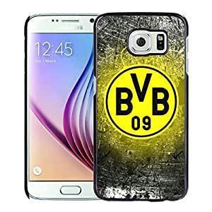 Popular Custom Designed Cover Case For Samsung Galaxy S6 With Dortmund Black Phone Case 1