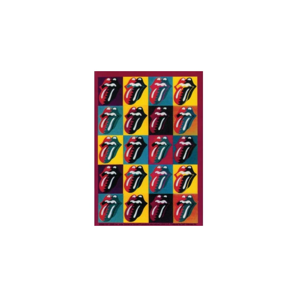 Rolling Stones   Warhol Tongues Decal