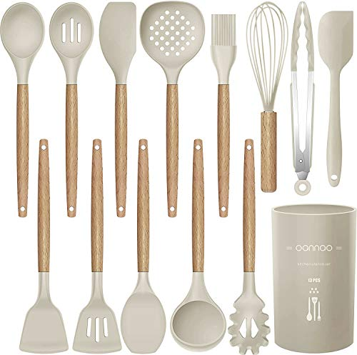 14 Pcs Silicone Cooking