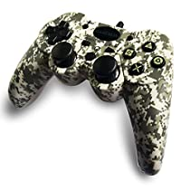 GAMEMON DUALSHOCK Wired Controller Compatible with PS3 PLAYSTATION3 with 3M/10FT Cable