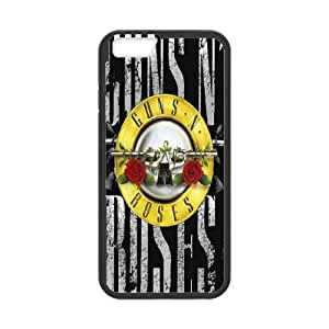 Guns-N-Roses iPhone 6 Plus 5.5 Inch Cell Phone Case Black Wpmxh