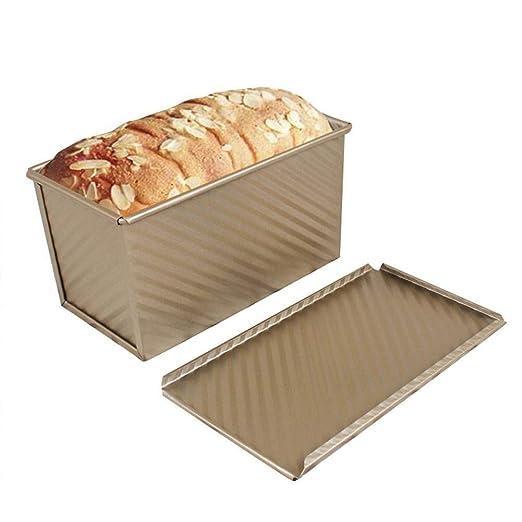 Lcjtaifu Bandeja for Hornear Pan con Tapa Rectangular for 450 g ...