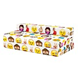 BLACK FRIDAY DEAL 2017 - Emoji Emoticons Design Children's Cotton Double Sofa Bed Folding Chair Mattress