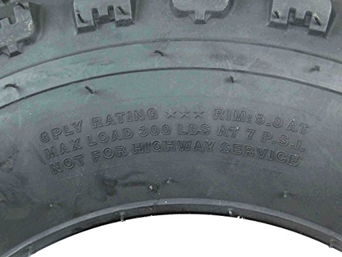 New MASSFX ATV Sport Quad Tires 21X7-10 20X10-9 6 Ply Dual Compound Front Rear For Yamaha Raptor Banshee Honda 400ex 450r 660 700 400 450 350 250 (Four Pack two Front 21x7-10 and Two Rear20x10-9 6) by MassFx (Image #8)