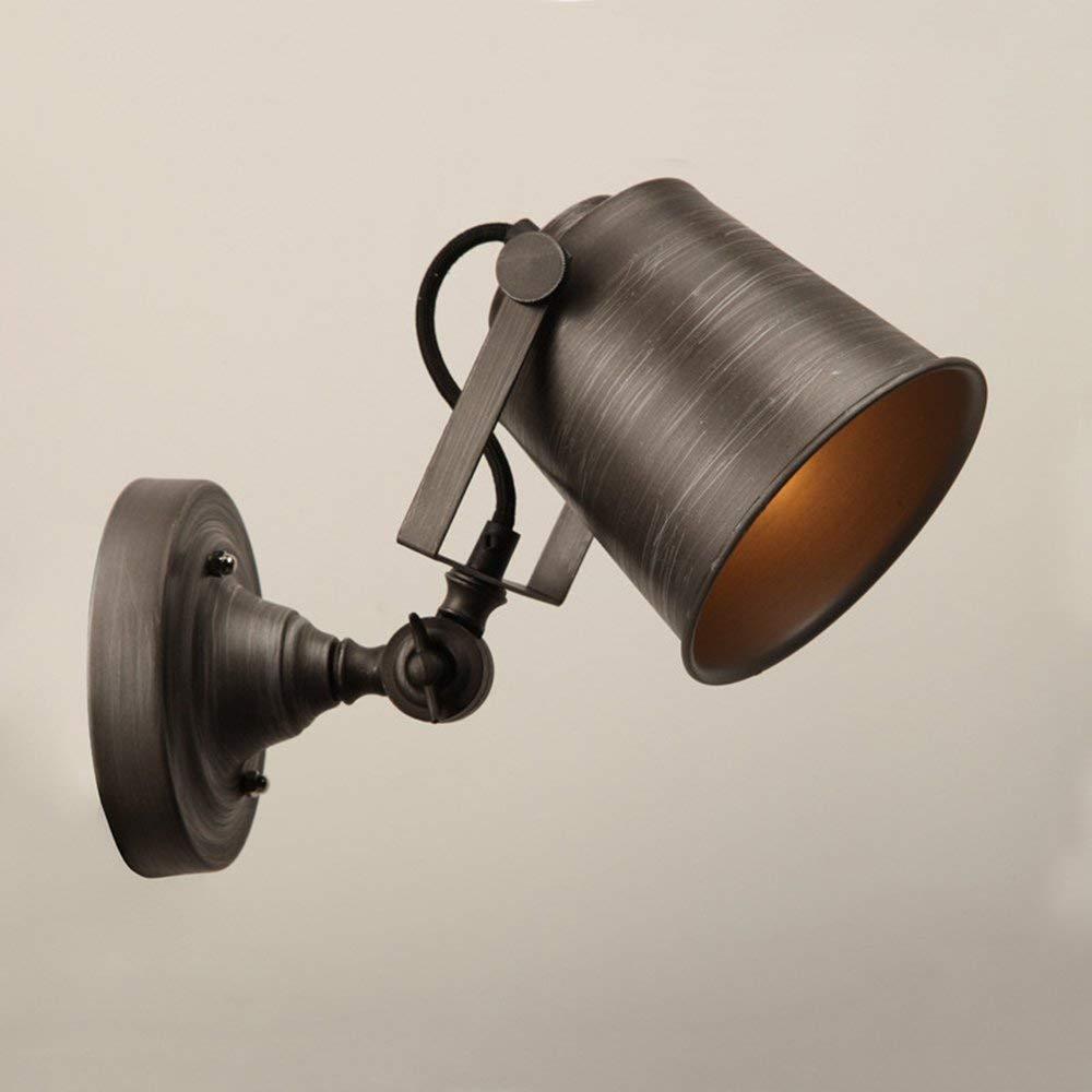 American Style Retrò Ferro Regolabile Lampada Da Parete Scale Luci Da Parete Creative Lampade Con Balcone