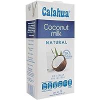 Calahua Coconut Milk Natural (Alimento liquido de coco natural)