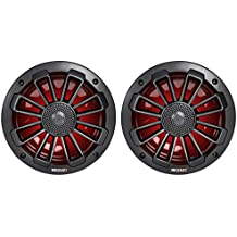 "MB QUART NK1-116LB Nautic Series 6.5"" 120-Watt 2-Way Coaxial Speaker System with Matte Black Finish"