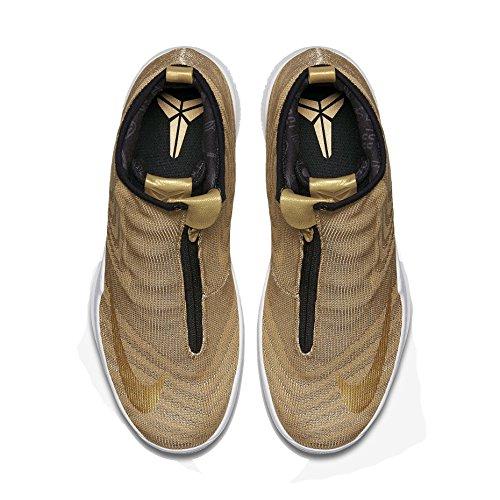 Nike Zoom Kobe Symbol JCRD Herren Hallo Top Trainer 819858 Turnschuhe Schuhe Metallisches Gold / Schwarz