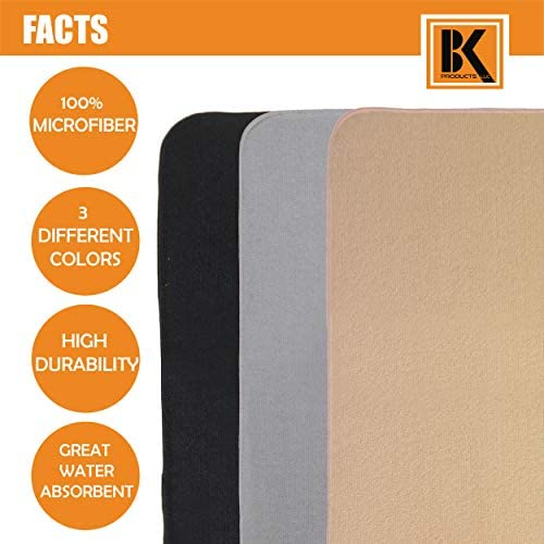 Set of 3 Microfiber 18-by-16 Inch Durable /& Super Ultra Water Absorbent Drying Mat for Glasses Plates and Baby Bottles to Accommodate Any Kitchen Counter Top Kitchen Accessories Dish Drying Mat