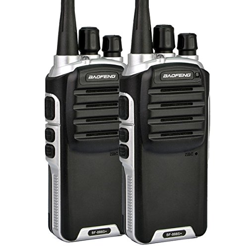 Baofeng BF-888S Plus UHF Walike Talkie 400-480MHZ Long Distance Range Communication High Battery Pack 1500mAh