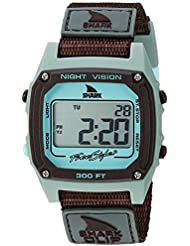 Freestyle Unisex 10026748 Shark Clip Digital Display Japanese Quartz Grey Watch