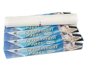Times No Stick Parchment Paper 70 sqt, 4 packs