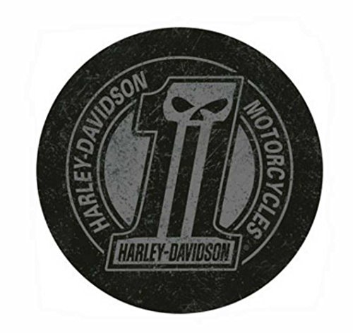 Harley Davidson Black 1 Logo Bar Stool Buy Online In