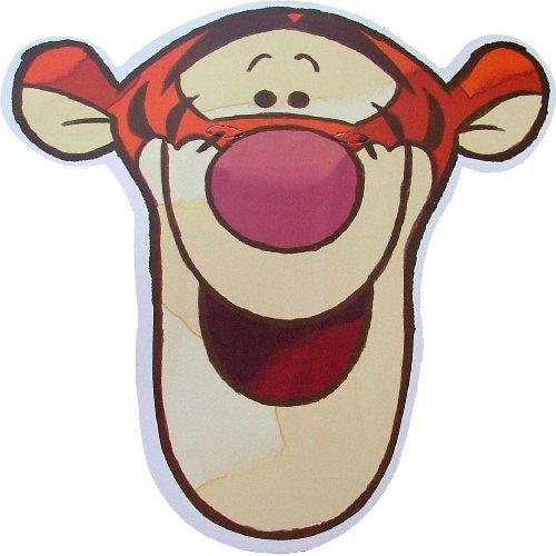 Disney's - Tigger - Card Face Mask by (Tigger Mask)