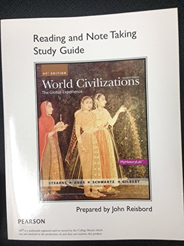 Book Note Reading (World Civilization - Reading and Note Taking Study Guide - AP Edition)