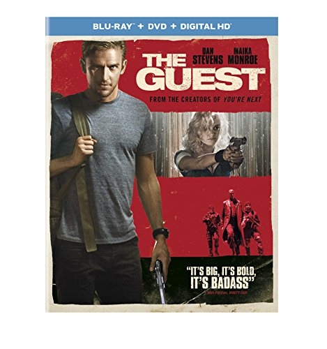 Blu-ray : The Guest (With DVD, Ultraviolet Digital Copy, Snap Case, Slipsleeve Packaging, Digitally Mastered in HD)