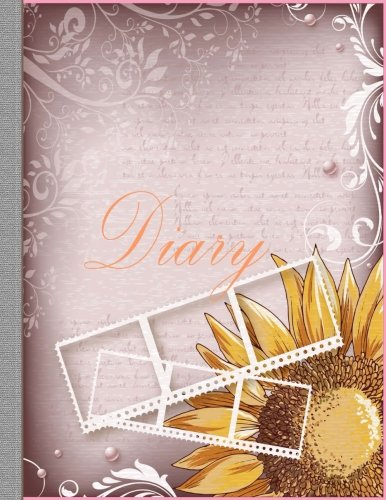 Diary: Unique Charm Perfect 100 Pages 8.5x11  inches, Writing or Sketching Paperback