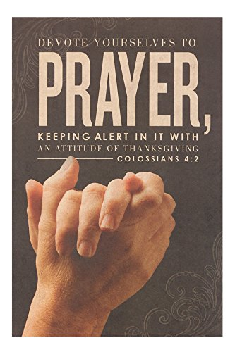 - Salt & Light Devote Yourself to Prayer Church Bulletins, 8 1/2 x 11 inches, 100 Count