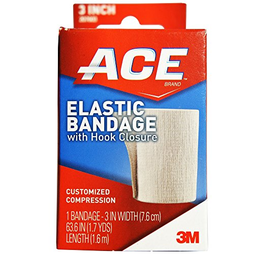 ACE Elastic Bandage with Hook Closure 3 Inch 1 ea ()