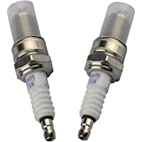 HIPA Spark Plug for Honda GX120 GX160 GX200 GX240 GX270 GX340 GX390 Engine Lawn Mower Tractor Rototiller(Set of 2)