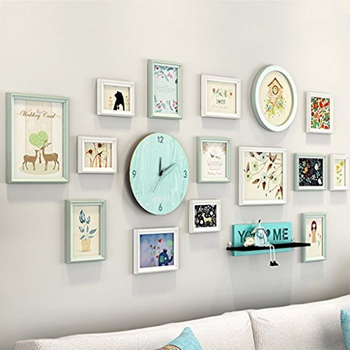 Picture Frames Small fresh photo wall decoration simple mode