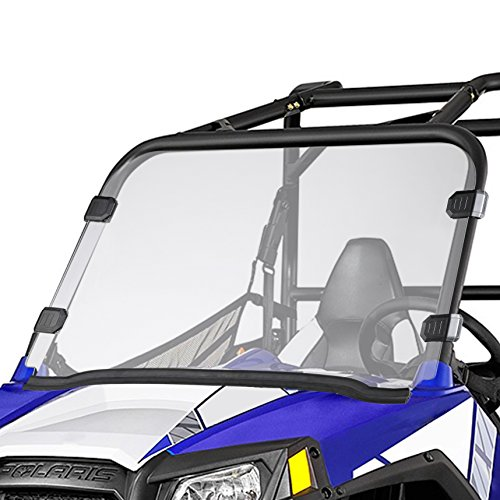 10 Windshield - Orion Motor Tech UTV Full Windshield, Compatible with Polaris Razor, 09-14 RZR S 800, 10-14 RZR 4 800, 11-14 RZR XP 900, 12-18 RZR 570, 12-14 RZR XP 4 900