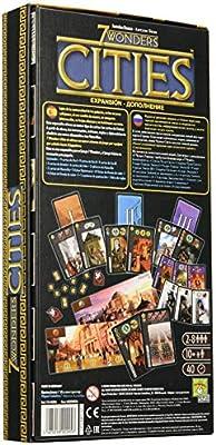 Repos Production- 7 Wonders: Cities (RP7WEX02) (Asmodee: Amazon.es: Juguetes y juegos