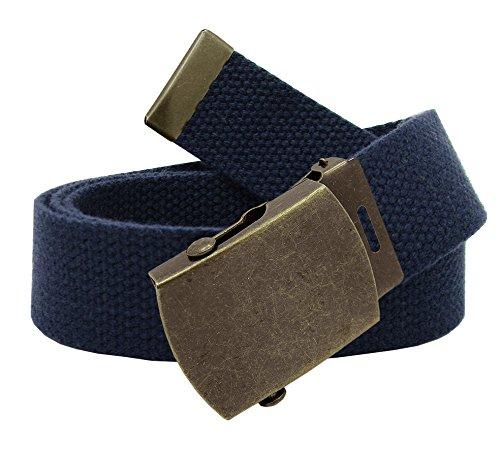 Boy/'s Cub Scout Uniform Belt Flip Top or Slider Buckle Adjustable Navy Web Belt