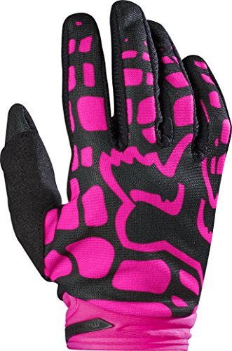 Womens Motorcycle Gloves Pink - 7