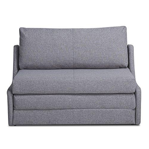 Sleeper Loveseat, Convertible Sofa, Upholstered Twin Size