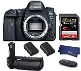 Canon EOS 6D Mark II DSLR Camera (Body Only) (USA Warranty) +...