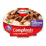 pre packaged meals - Hormel Compleats Beef Rib Tips with Mashed Potatoes and Gravy, 9 Ounce