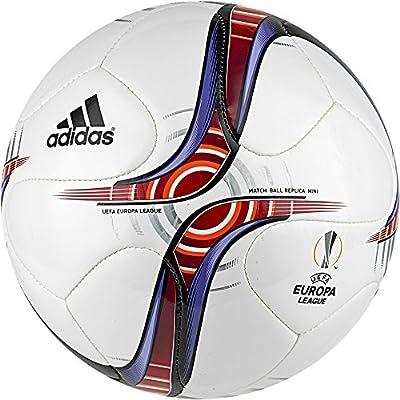 adidas UEFA Europa League Mini Balón de Fútbol, Hombre, (Blanco ...
