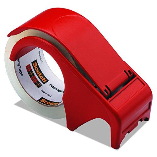 Scotch Packaging Tape Hand Dispenser DP300-RD (Scotch Core Extra)