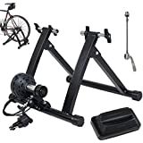 ALPINE© Magnet Steel Bike Bicycle Indoor Exercise Trainer Stand Black/Blue